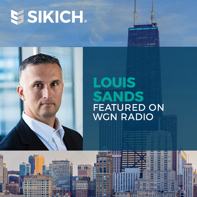 Louis Sands on WGN Radio